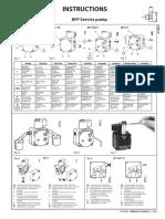 INSTRUCTIONS BFP Service Pump - Danfoss.com