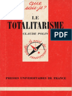 Polin, Claude - Le Totalitarisme