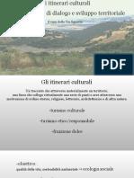 presentazione tesi Itinerari Culturali