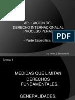 Aplicacion del derecho internacional en penal