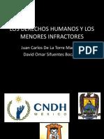 Los Derechos Humanos y Los Menores Infractores