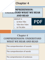 Psycholinguistics Chap 4
