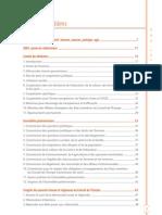 Conseil de l'Europe - Rapport d'activité 2009