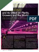 Condiții iluminat plante
