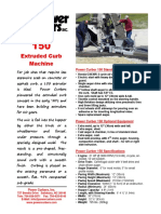 PC150 (Honda) Spec Sheet - May 2012