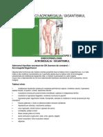 Endocrinologie - c3 Acromegalia Gigantismul