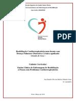 Estudo de Caso - SCI Cardiorespiratorio