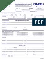 Application to Corporate Open Nostro FCA