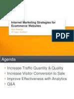 Internet Marketing Strategies for Ecommerce Websites Webinar Slides 100922220003 Phpapp01