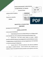 United States v Assange Original Indicment