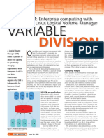 LogicalVolumeManager Linux Magazine