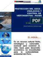 4-Protección Del Agua Vigilancia y Control de Vertimientos Paver. Lic. Juan Ocola-convertido