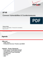 IPV6 - Threats and Countermeasures / Crash Course - Thierry ZOLLER