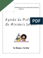 agenda do ministério infantil
