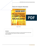 Music Theory for Computer Musicians Book