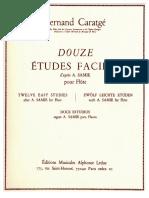 Caratgé, 12 Études faciles.pdf