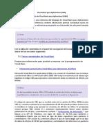 Referencia Del Lenguaje de Visual Basic Para Aplicaciones