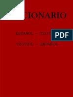 Tze Diccionario