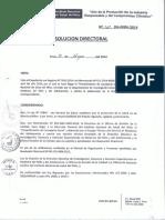 R.D.N°362-2014-INSN-DG