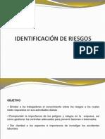 Identificacion de Riesgos - Investigación Accidentes