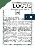 Karl Fulves Riffle Shuffle Technique Part 1 Ready2Print A4OCR