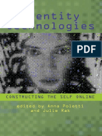[Wisconsin Studies in Autobiography] Anna Poletti _ Julie Rak - Identity Technologies _ Constructing the Self Online (2014, University of Wisconsin Press)
