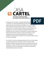 Breve Historia Casa Cartel