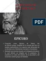 Epicuro. Placer y Dolor
