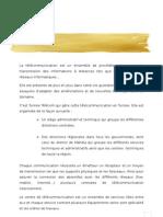 (2) rapport télécommunication