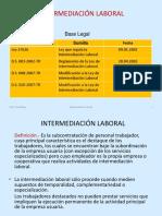 7. Intermediación Laboral y Tercerización