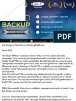 Cloud Backups With Web Werks Data Center