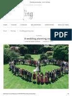 8 Wedding Planning Steps - Love Our Wedding