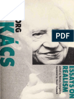 Georg Lukács - Essays on Realism-MIT (1981)