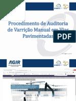 1456655 Procedimento de Auditoria de Varricao Manual Em Vias Pavimentadas