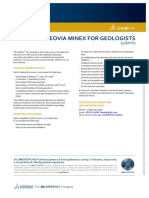 GEOVIA Training Minex for Geologists