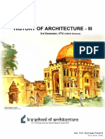 History of Architecture - III- By Shanmuga Sir