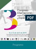 Programa congreso 2019