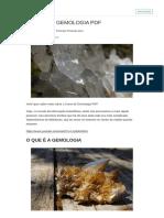 Curso de Gemologia PDF