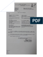 DOLE order assuming jurisdiction over Port of General Santos labor dispute