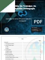 Guía Básica Apa Cusacq 2018 Diplomado