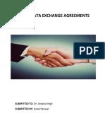 Safety Data Exchange Agreements