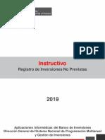 Instructivo Registro Inversiones No Previstas V1