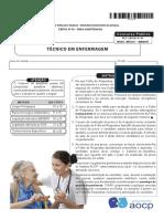 Instituto Aocp 2016 Ebserh Tecnico Em Enfermagem Nacional Prova