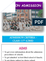 11TH Admission Ppt