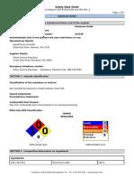 SDS for Aluminum Oxide