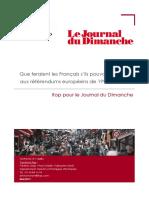 Que feraient les Français s'ils pouvaient revoter aux référendums européens de 1992 et 2005?