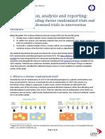 Cluster Randomised Trials Guide Feb2010