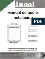 x97allegatodocumentazione3-5x Manual Instrucciones Infinity