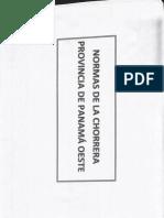 Normas de La Chorrera-plan Normativo de Desarrollo Urbano 1985