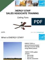 Ceiling Fan Sales Training
